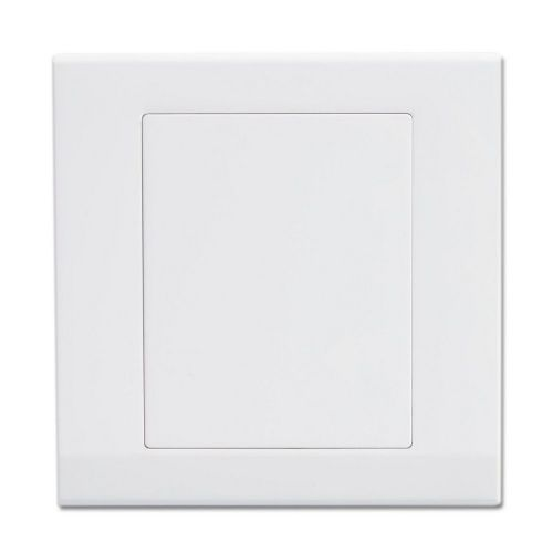 Simplicity White Screwless 1 Gang Blank Plate 07840